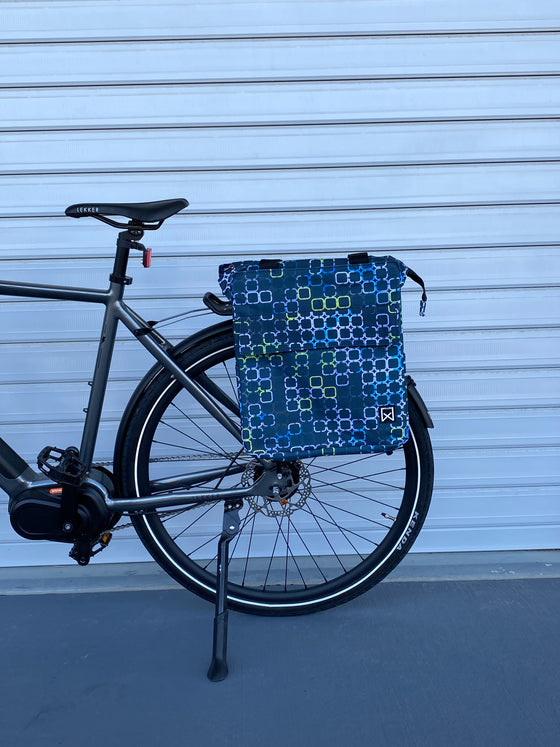 Willex Cyber Single Pannier 17L - black blue