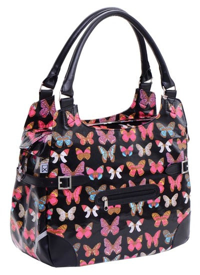 Willex Shopper 13L - black butterfly