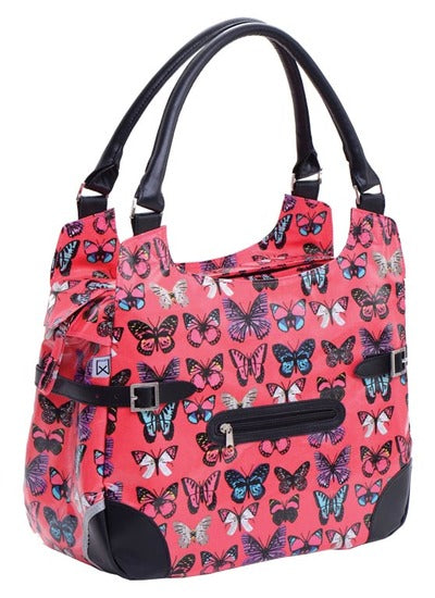 Willex Shopper 13L - fushia butterfly