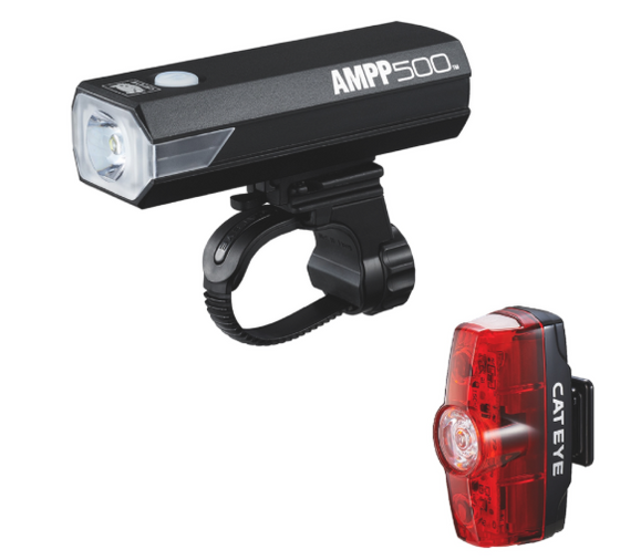 Cat Eye Ampp & Rapid Mini 500 Lumens Light set