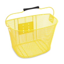 Elektra quick release wire mesh front basket