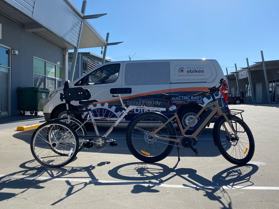Tandem Trailer Trike (TTT) with Special Needs Support