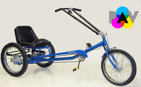 Worksman Personal Activity Low Rider Electric Tricycle