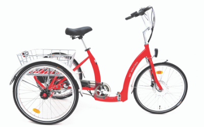 BF i-Tri Euro 24-inch Electric Tricycle