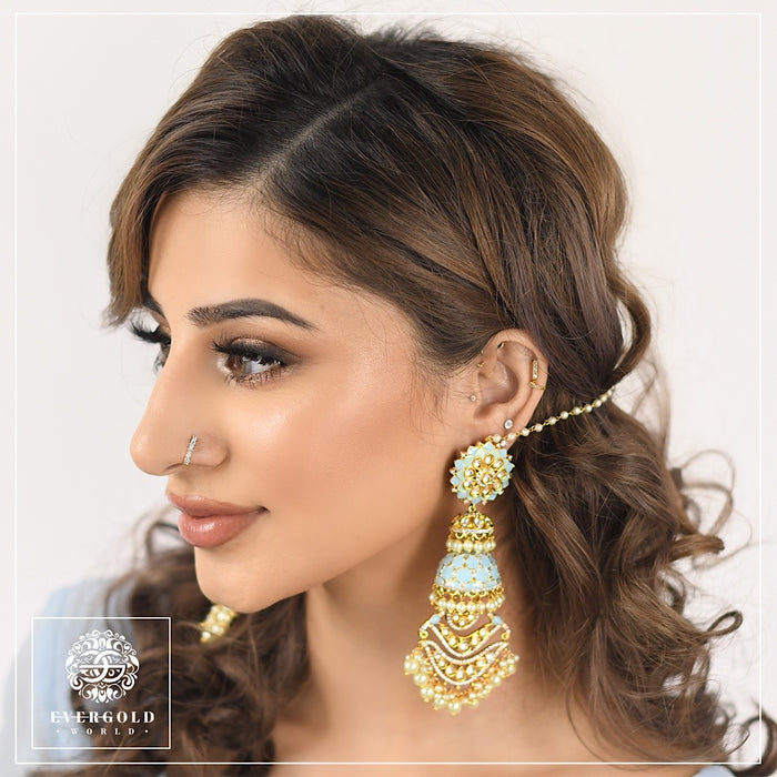 Faaria Earrings with Sahara