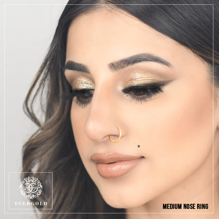 Classic Nose Ring - 22K Yellow Gold