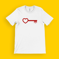 Mens Key to your heart T-Shirt