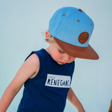 Little Renegade Snapback Caps - Mini