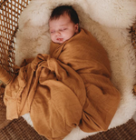 Halo & Horns -Bamboo Muslin Baby Swaddle
