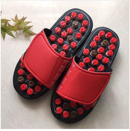 WOODEN MASSAGE SANDALS Reflexology Acupuncture