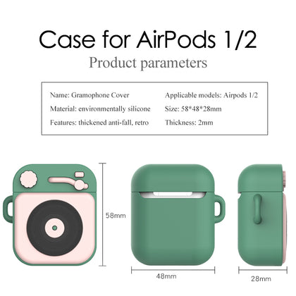 Silicone case for airPods 1 2