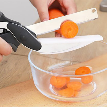 Tijeras de cocina 2 In 1 Food Chopper