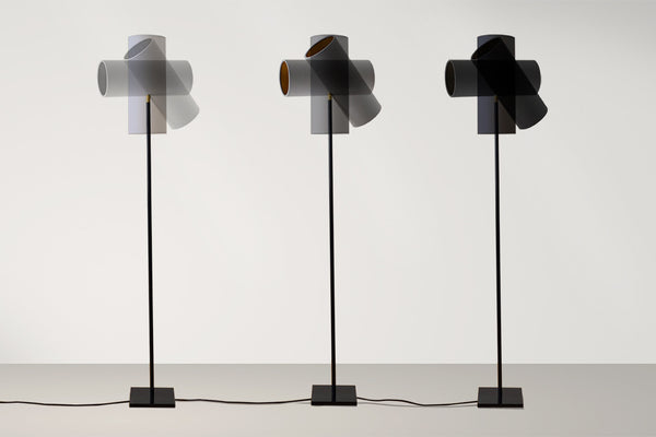 Up-Side-Down floor lamp 3x