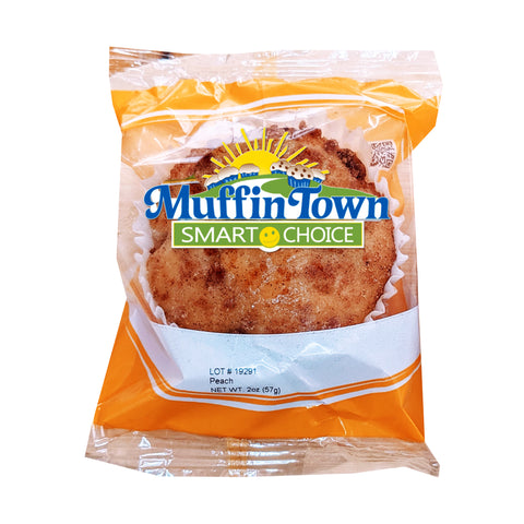 Smart Choice Wholegrain Peach Muffins - 96 Muffins (Safe for Schools)