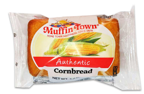 Muffin Town Cornbread Loaves Individually Wrapped