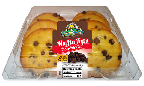 Chocolate Chip Muffin Tops - 96 Muffin Tops