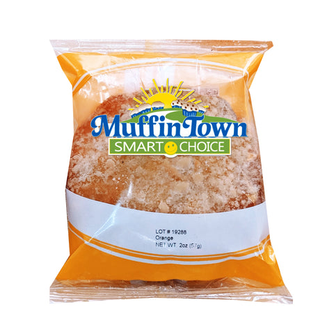 Smart Choice Wholegrain Orange Crumb Muffin Tops - 60 Muffin Tops