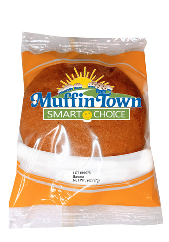 Wholegrain Banana Muffin Tops - 60 Muffin Tops