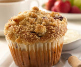 Blueberry Crumb Muffin Case - 24 Muffins