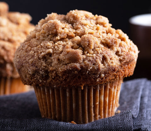 Coffee Cake Muffin Case - 24 Muffins