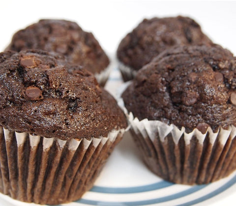 Double Chocolate Chip Muffin Case - 24 Muffins