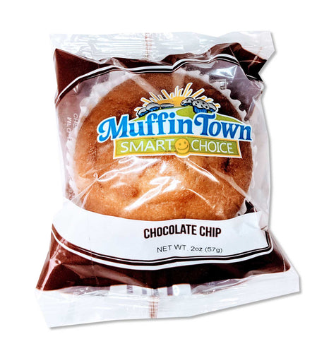 Smart Choice Wholegrain Chocolate Chip Muffin - 24 Muffins (Safe for Schools)
