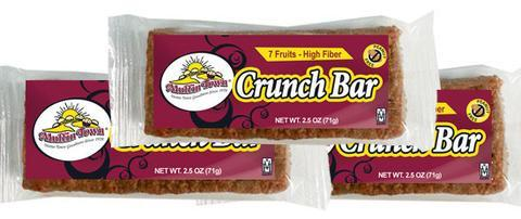Crunch Fruit Bars - 60 Bars