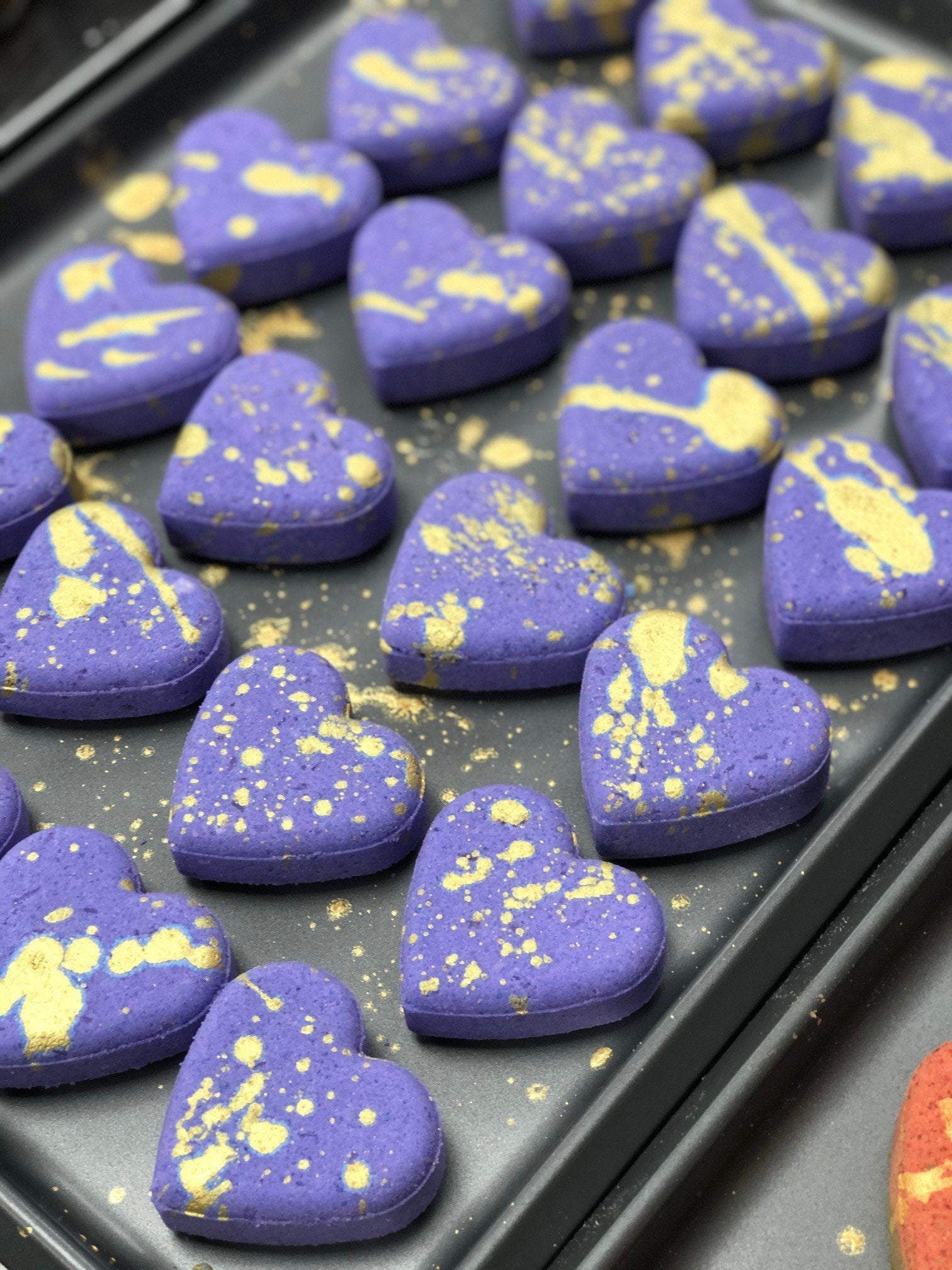 Heart Bath Bombs