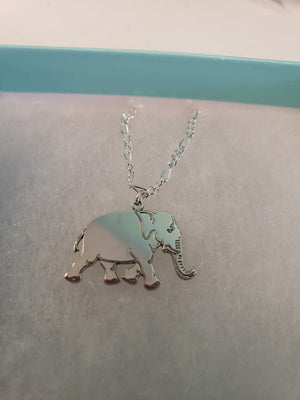 ANE01 - Elephant Animal Necklace