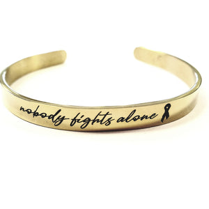 SNFAC04- Skinny Nobody fights alone cuff