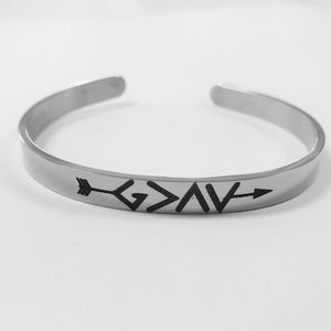 SGGC02- God is greater than your highs and lows cuff