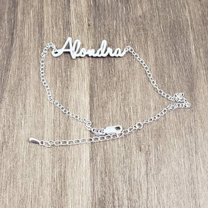 ANK01 - Personalized Rolo Chain Anklets Bracelet