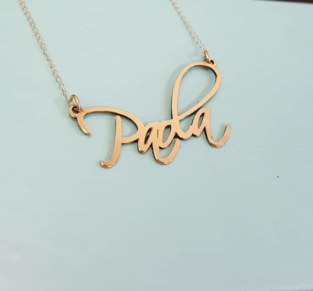 ARTSC01 - Artistic Name Necklace