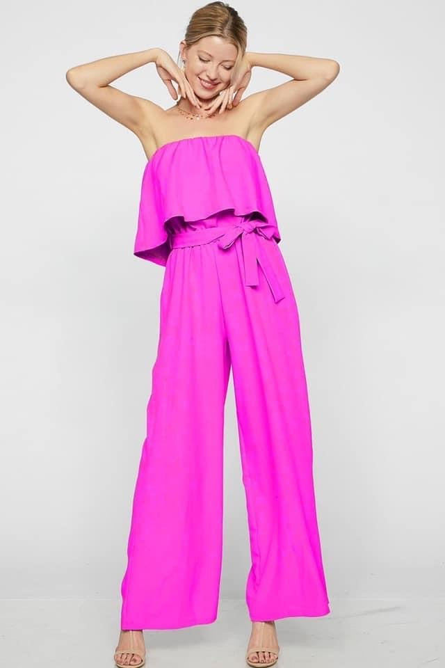 Pretty in Pink Jumpsuit