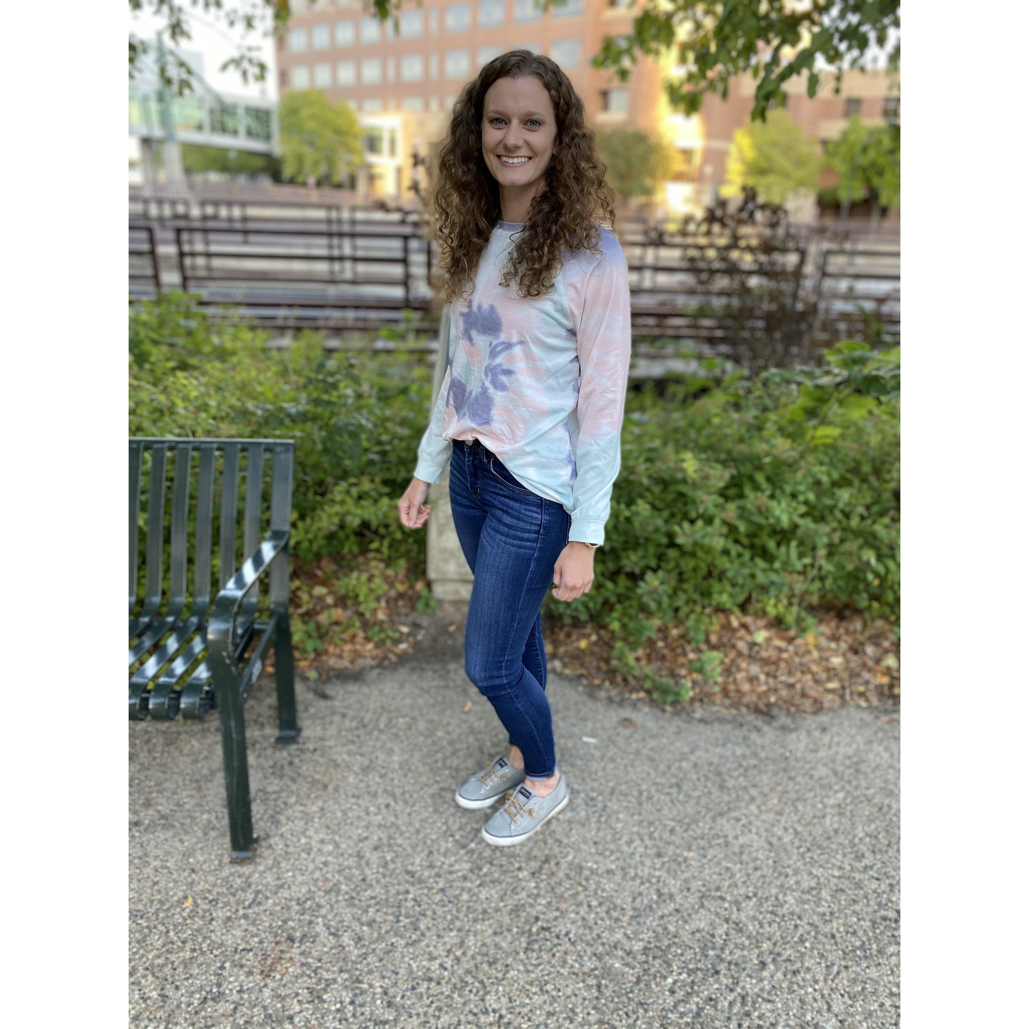 Multi Color Tie Dye Pull Over
