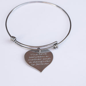 MHBR01  - Mother/Daughter Love Is Forever Bracelets