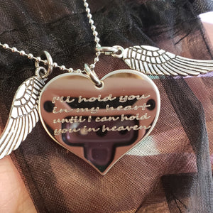 IHIM01 Memorial Charm Necklace