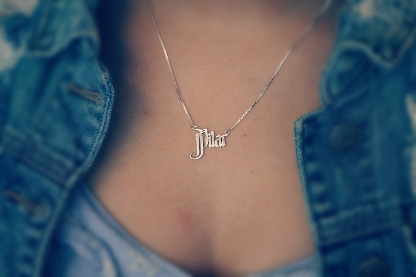 CHN01 - Chola Name Necklace