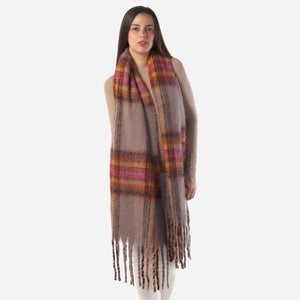 Light Multi Color Scarf - RTS