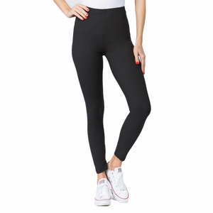 "1"" Waist Band Legging - Black"