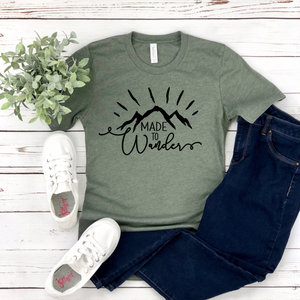 Made To Wander - Graphic Tee - RTS