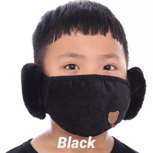 Keckley Kids Mask with Ear Warmers