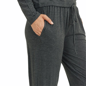Lounge Pant - Heather Charcoal - RTS