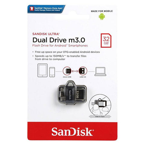 Sandisk 32GB OTG USB Flash Drive 3.0