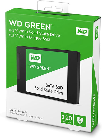 Western Digital (WD) Green 120GB PC Solid State Drive