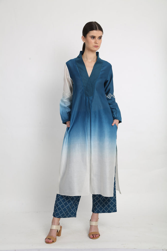 Blue Cloud Tunic