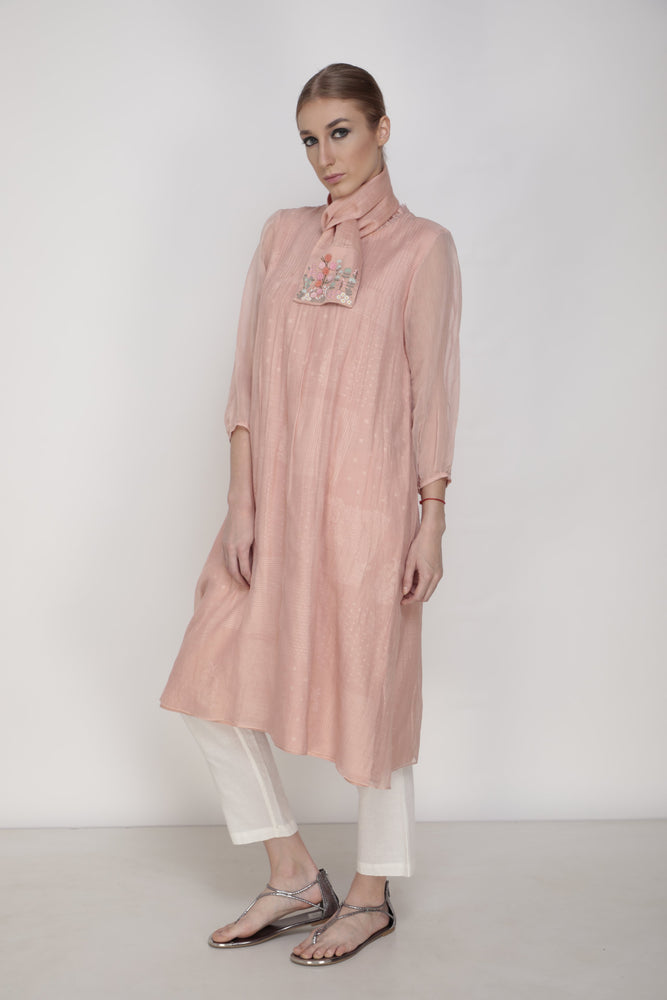 Old Rose Aster Tunic