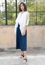 Flared Linen Culottes