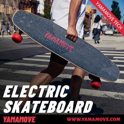 YAMAMOVE Dual 1800w Electric Skateboard B2