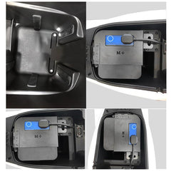 Battery Protector Anti-theft Lock for Niu Scooter M1/M+/N1/N1S
